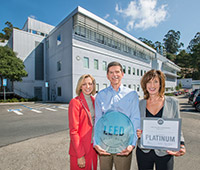 Earth Sciences' Building 74 Earns LEED Platinum Certification