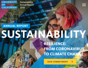 UC Annual Sustainability Report
